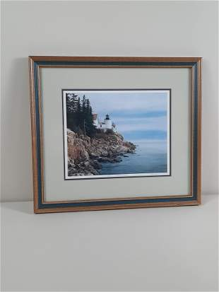 "David Knowlton ""Bass Harbor Light"" Lmt. Ed. Print"
