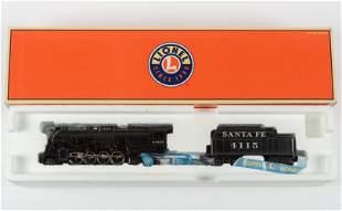 Lionel 6-38033 Santa Fe Berkshire Engine & Tender