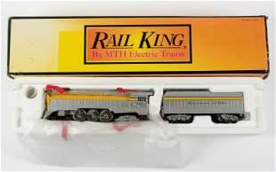 Rail King 30-1161-1 C&O 4-6-4 Hudson Steam Engine