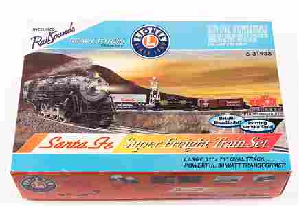 Lionel 6-31933 Santa Fe Super Freight Train Set