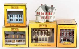 5 Rail King Buildings incl Jenny Lee Bakery