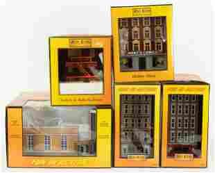 5 Rail King Buildings incl MTH Train Store