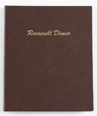 151 Roosevelt Dimes 1946-2017-D in Book