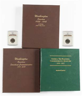 375 Washington Quarters 1932-2017 in Books