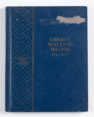 20 Walking Liberty Half Dollars 1941-1947
