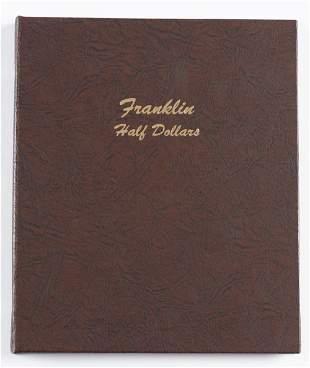 35 Franklin Half Dollars 1948-1963