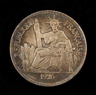 1926 French Indo-China Piastre