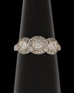 14k 1.13 CTW Diamond Ring