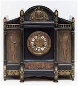 Tiffany & Co Art Nouveau Mantle Clock