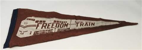 Civil Rights Era Freedom Train Pennant