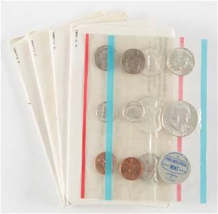 4 U.S. Mint Sets