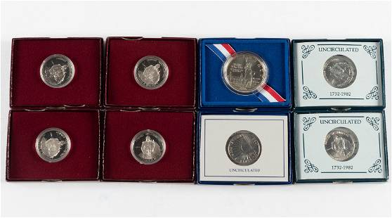 8 U.S. Commemorative Items