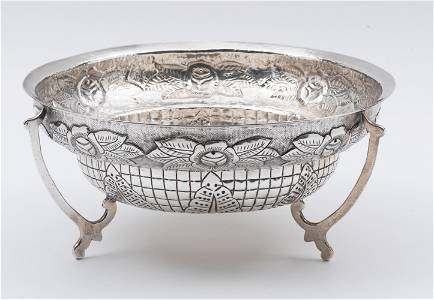 Maciel Sterling Footed Centerpiece Bowl