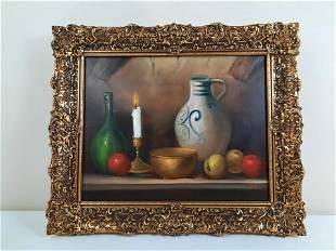 Van Dorp Still Life Painting