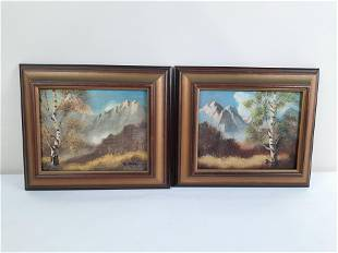 Pr Ruther Mountainside Paintings