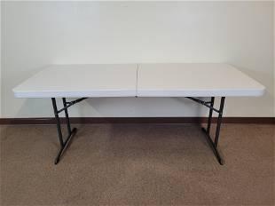 Lifetime 6' Folding Table