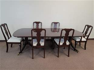 Harden Dining Room Table & 6 Chairs