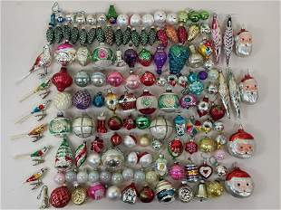 135 Pcs Vintage Christmas Ornaments