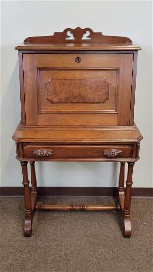 Victorian Walnut Desk