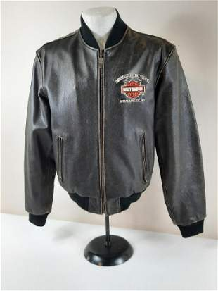 Small Harley Davidson Leather Jacket