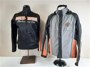 2 Harley Davidson Jackets