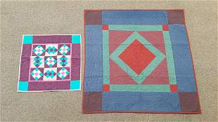 Vintage Crib and Doll Quilts
