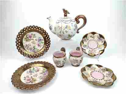 7 Pc Mackenzie-Childs' Tea Set