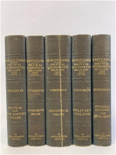 5 Pennsylvania Political Volumes