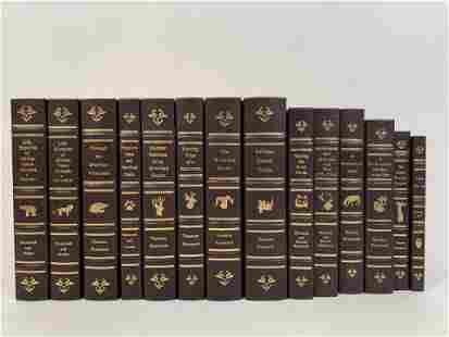14 Theodore Roosevelt Classics Library Books