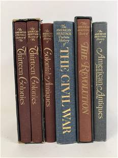 6 The American Heritage History Books