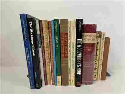 17 Books on Woodworking