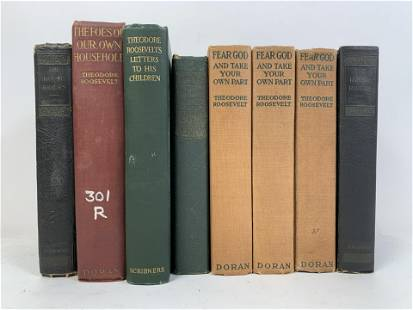 8 Books by Theodore Roosevelt