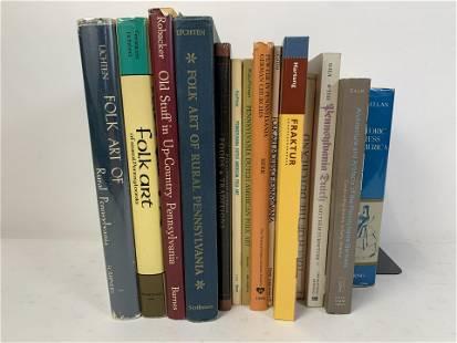 14 Books on PA Dutch Art & Culture