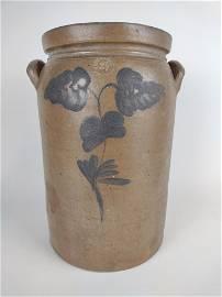 P. Hermann Decorated Stoneware Crock