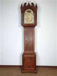 19th c. Tall Case Clock