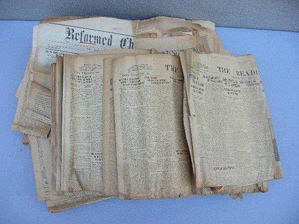 5: 45 Reading & Philadelphia Newspapers 1909-1945