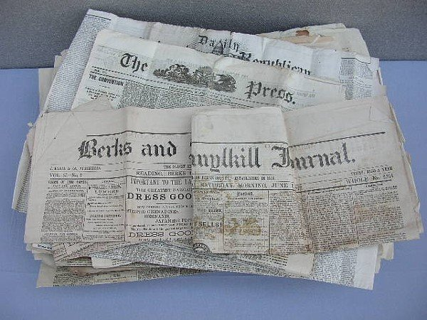 6: 115 Reading Newspapers 1870-1880