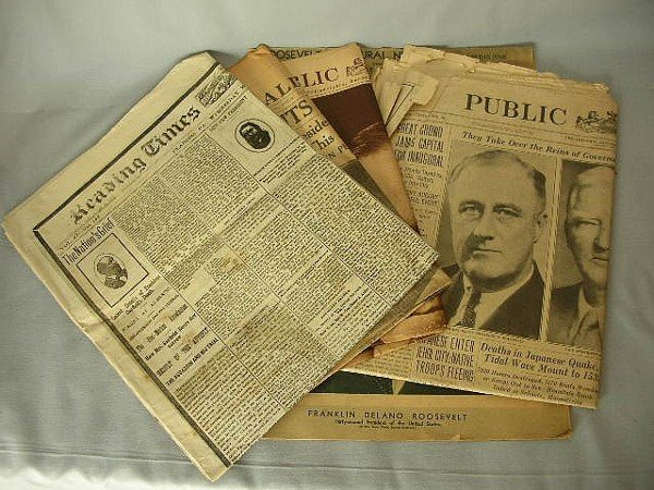 10: 5 Political Newspapers C 1881-1933