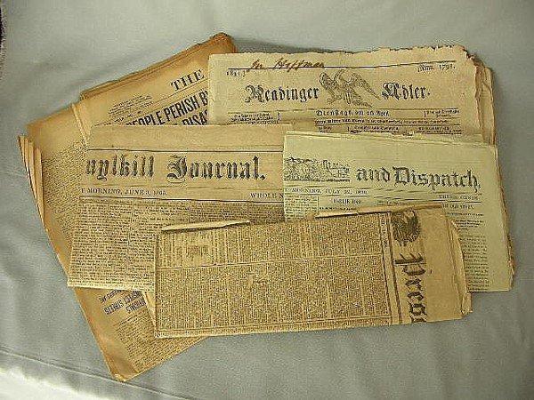 11: 6 Reading Berks Newspapers 1830-1868