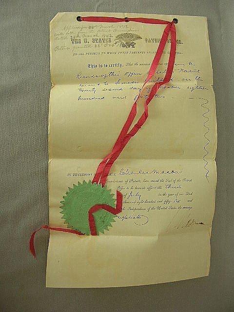 17: Simeon Guilford US Patent Sheet Metal Lebanon Cty