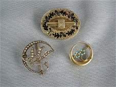 276 3 Victorian Pins