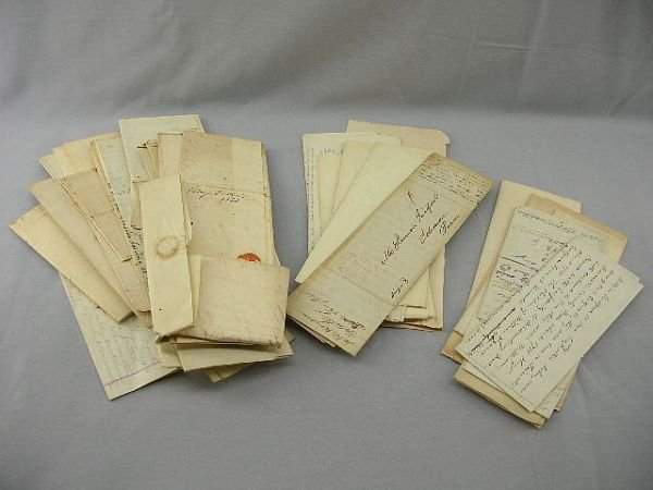 17A: Lot of Simeon Guilford Personal Papers/Corresponde