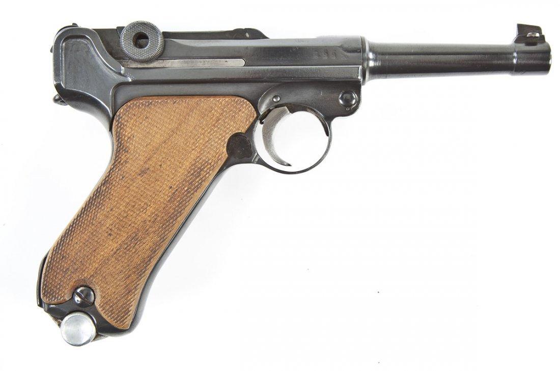 2: German Luger P-08 Pistol - 9mm Caliber