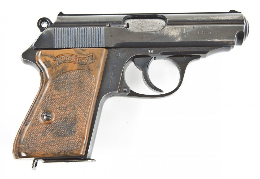 6: Walther PPK Pistol - .32 Automatic