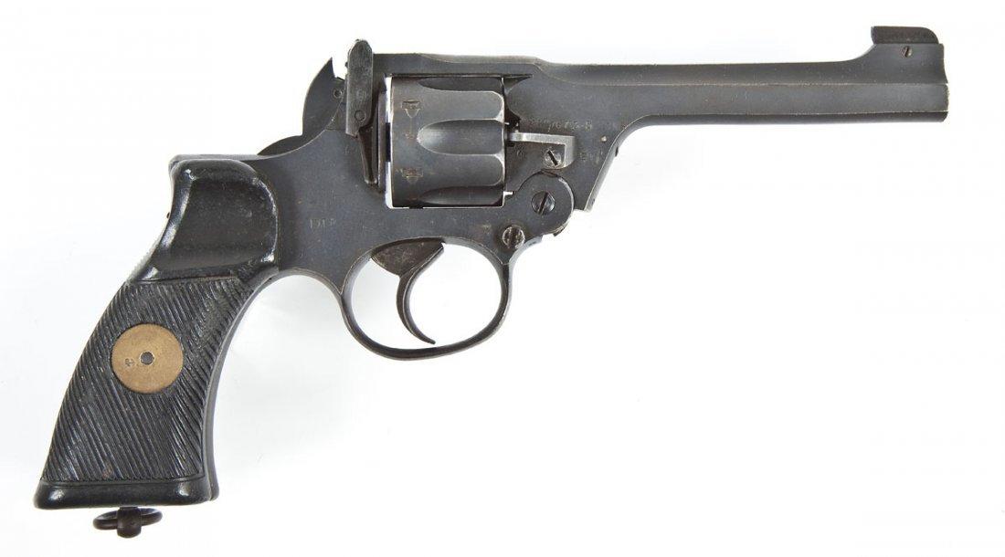8: British Webley MK II #1 Revolver - .38 S&W