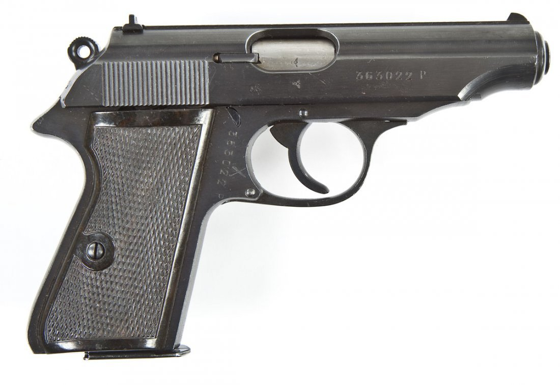 9: Walther PP Pistol - .32 Automatic