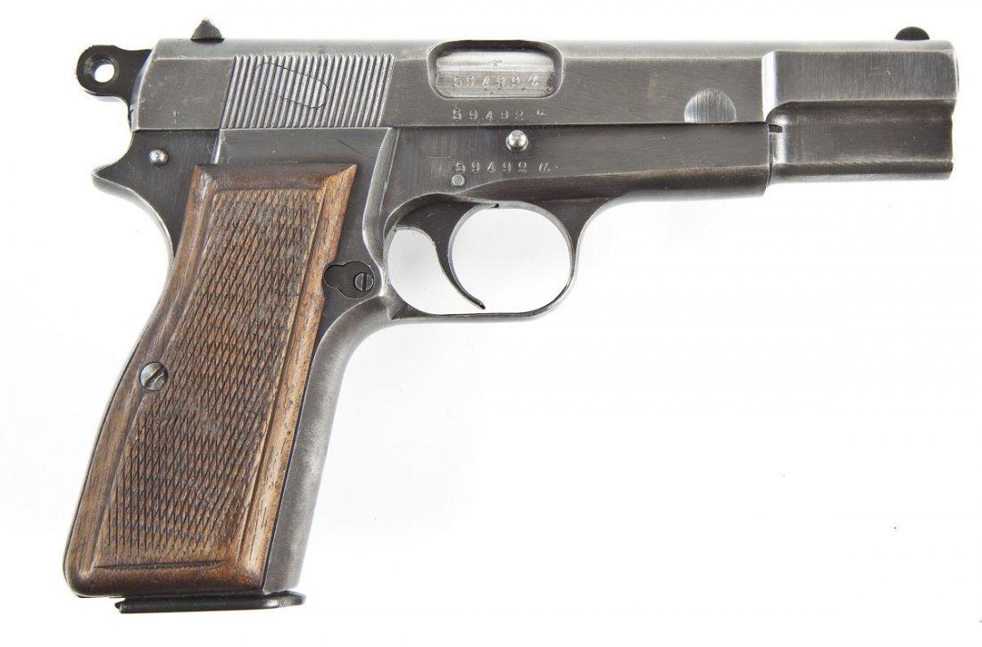 11: FN Browning Hi-Power Pistol - 9mm Caliber