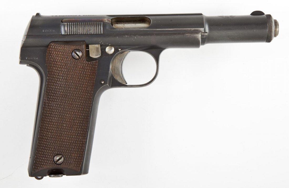12: Astra Model 600 Pistol - 9mm Caliber