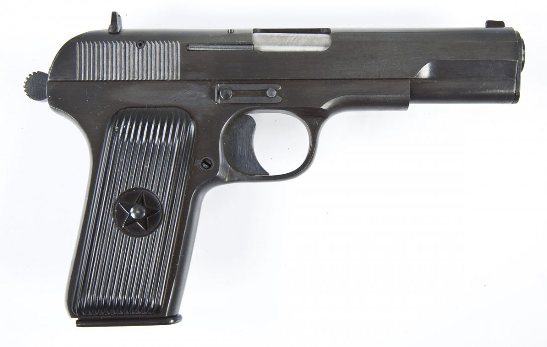 14: Norinco Model 54 Pistol - 7.62x25mm & 9mm