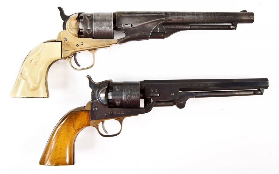24: 2 Black Powder Reproduction Revolvers